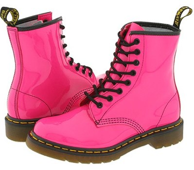 RISE UP!: Pink Combat Boots - LIVE IT OUT! - Sarah Francis Martin