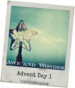 Day 1 awe and wonder