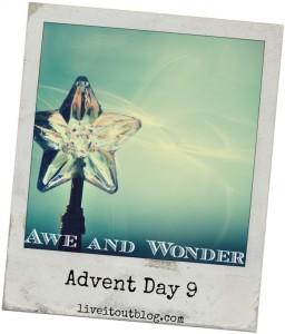 Day 9 awe and wonder