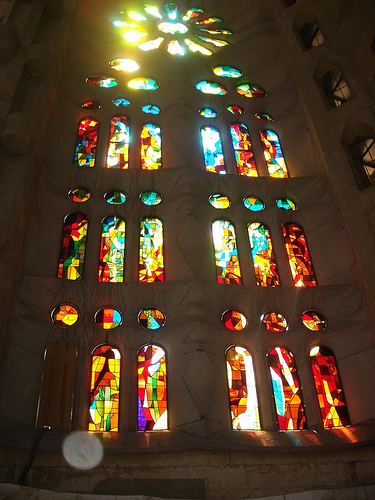 Stained glass-flickr