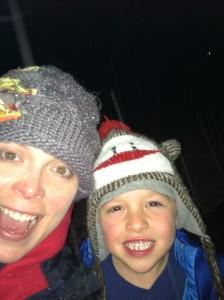 Whoohoo It's snowing Selfie